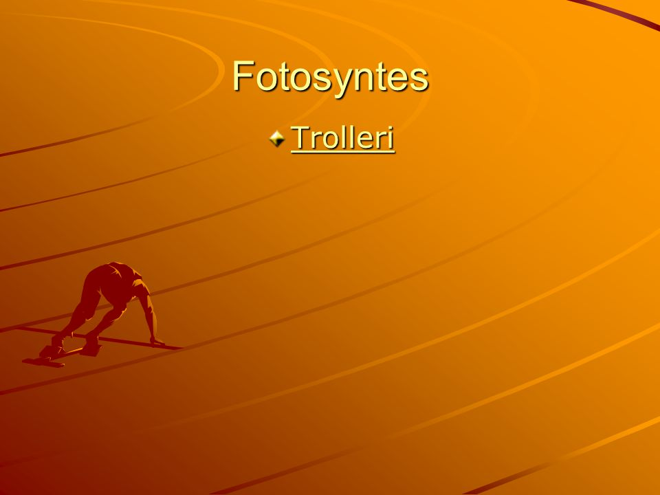 Fotosyntes Trolleri