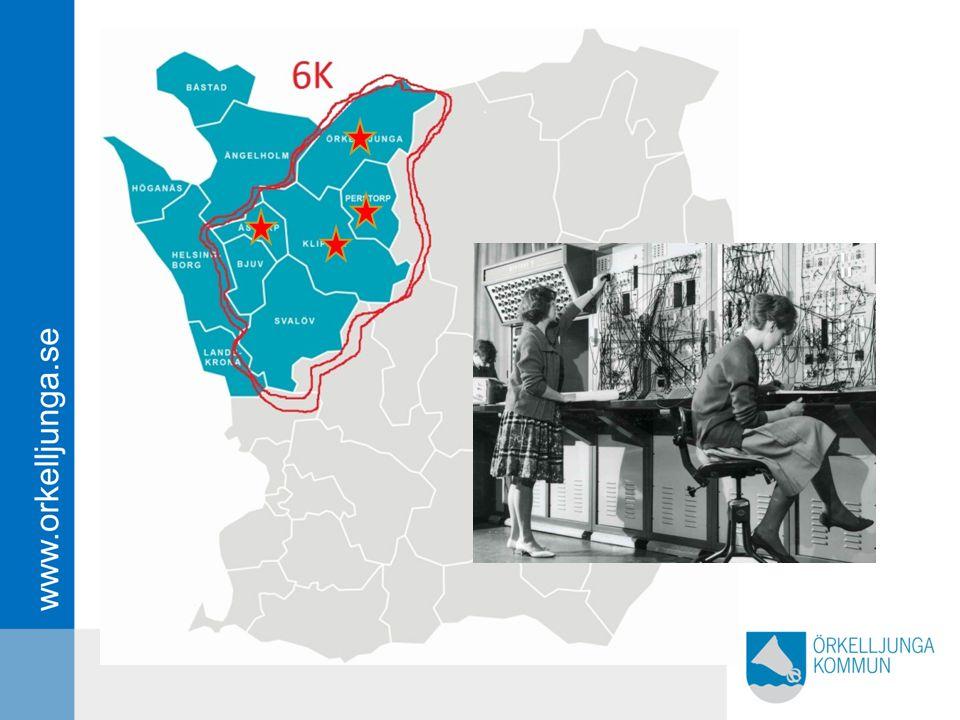 Det redan finns ett visst sammarbete mellan kommunerna - ett gemensamt telefon system