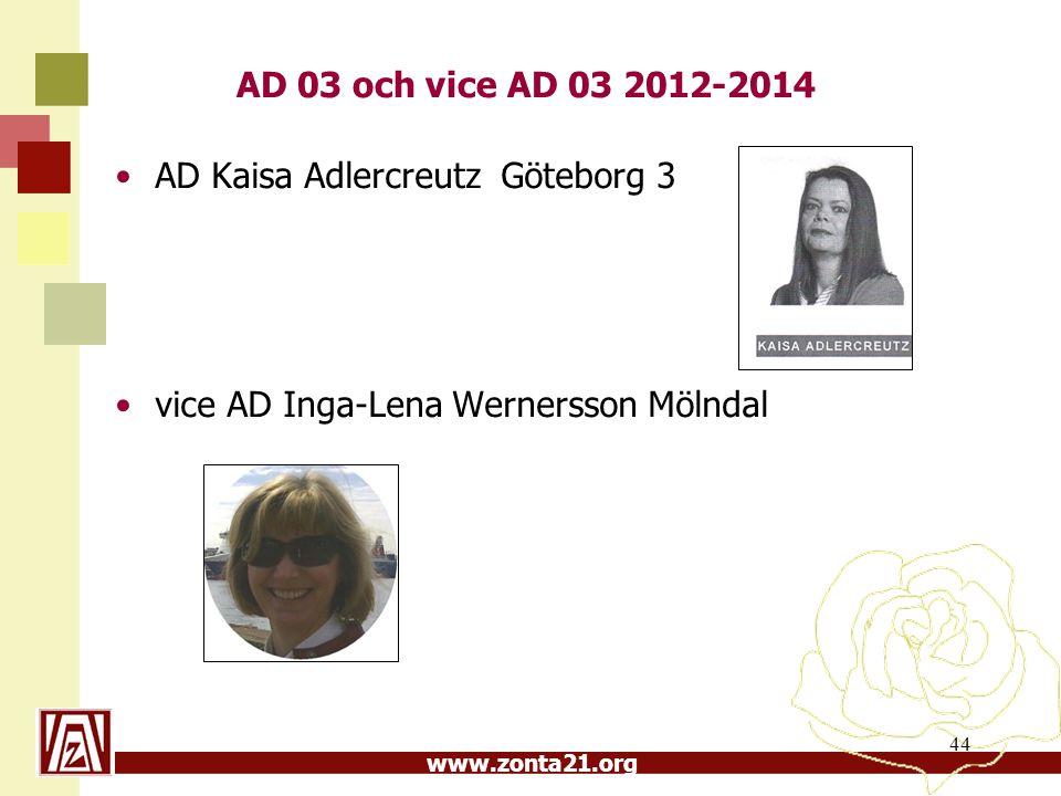 AD 03 och vice AD 03 2012-2014 AD Kaisa Adlercreutz Göteborg 3