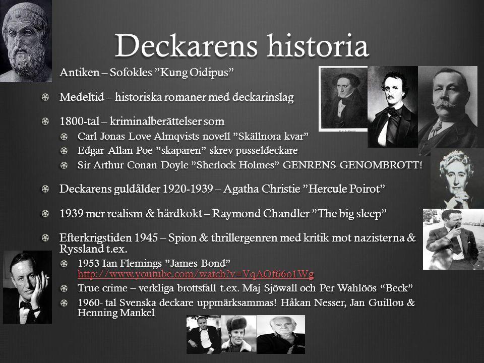 Deckarens historia Antiken – Sofokles Kung Oidipus