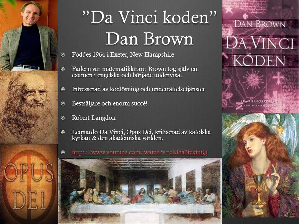 Da Vinci koden Dan Brown