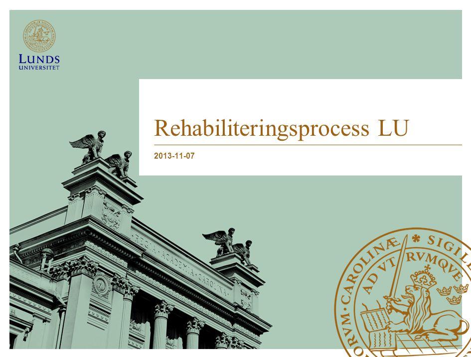 Rehabiliteringsprocess LU