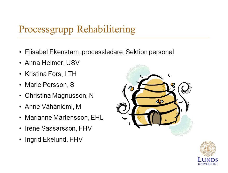 Processgrupp Rehabilitering