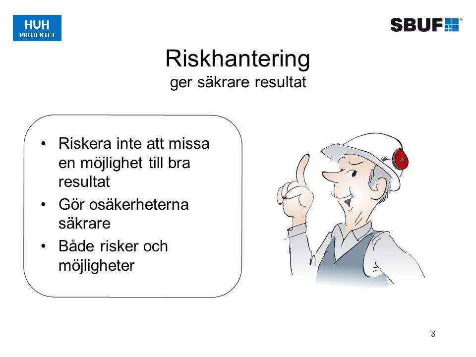Riskhantering ger säkrare resultat