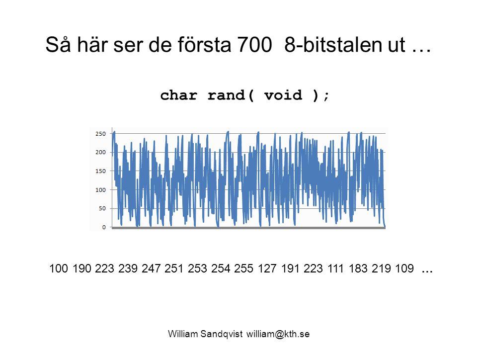 Så här ser de första 700 8-bitstalen ut …