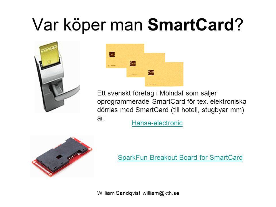 Var köper man SmartCard