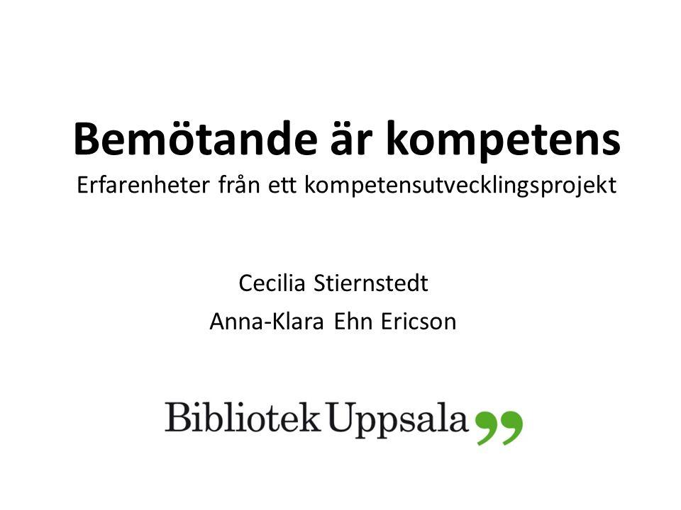 Cecilia Stiernstedt Anna-Klara Ehn Ericson