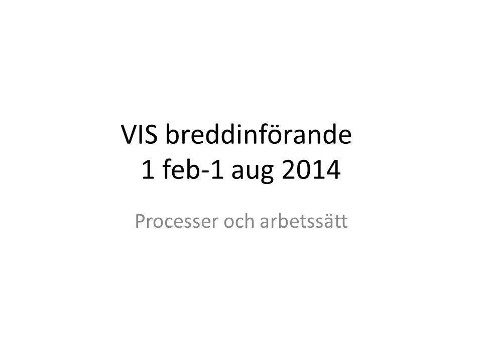 VIS breddinförande 1 feb-1 aug 2014