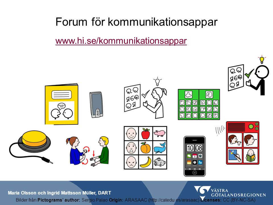 Forum för kommunikationsappar