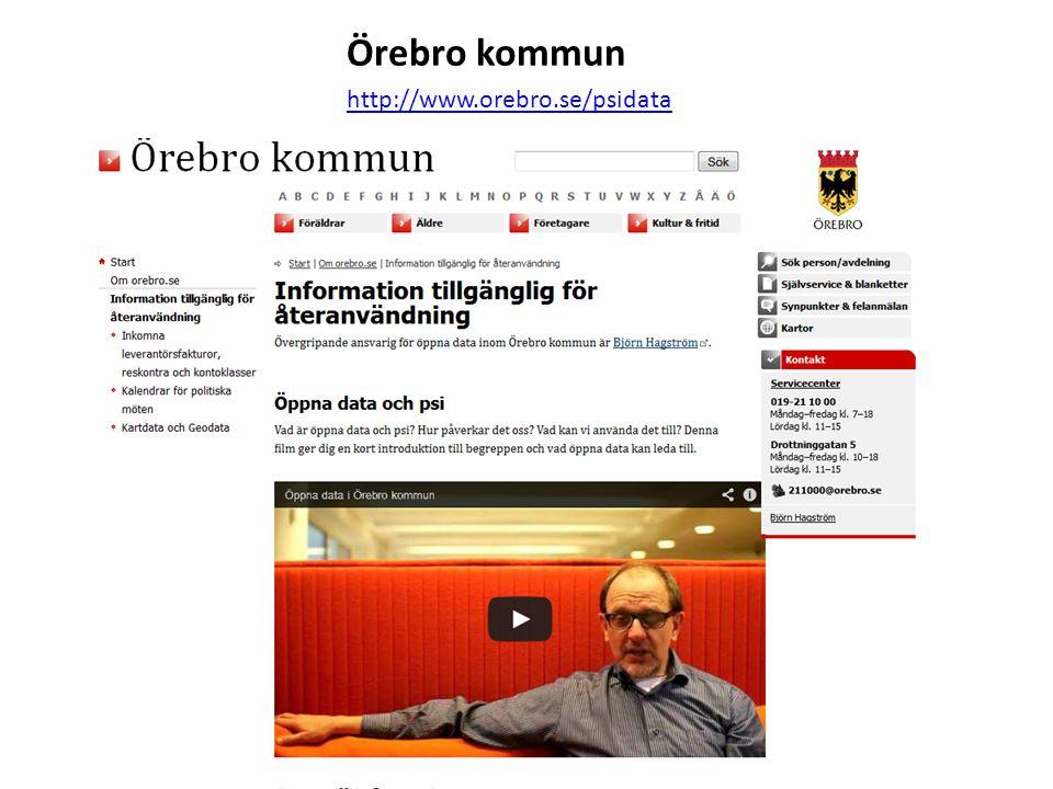 Örebro kommun http://www.orebro.se/psidata