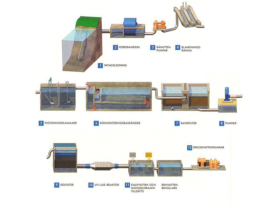 Polymerer negativt laddade/ ALUM aluminiumsulfat