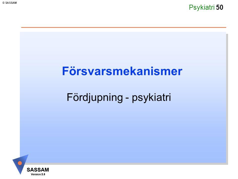 Fördjupning - psykiatri