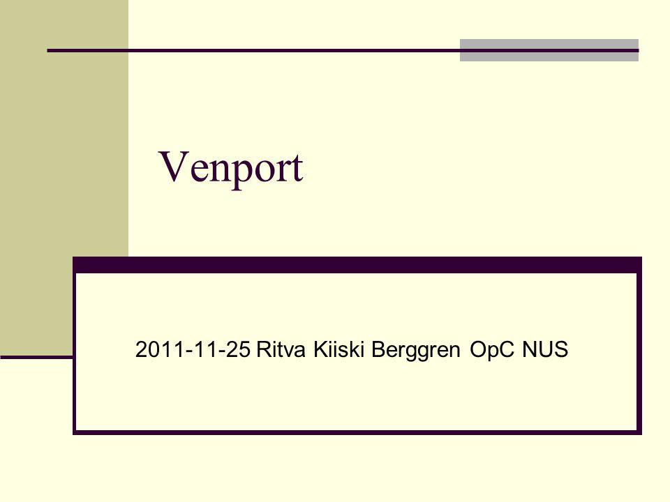 2011-11-25 Ritva Kiiski Berggren OpC NUS