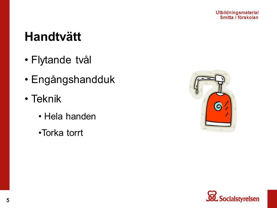 Handtvätt Flytande tvål Engångshandduk Teknik Hela handen Torka torrt