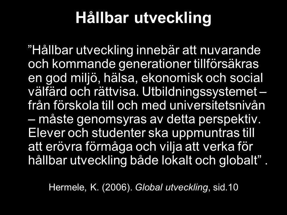 Hermele, K. (2006). Global utveckling, sid.10