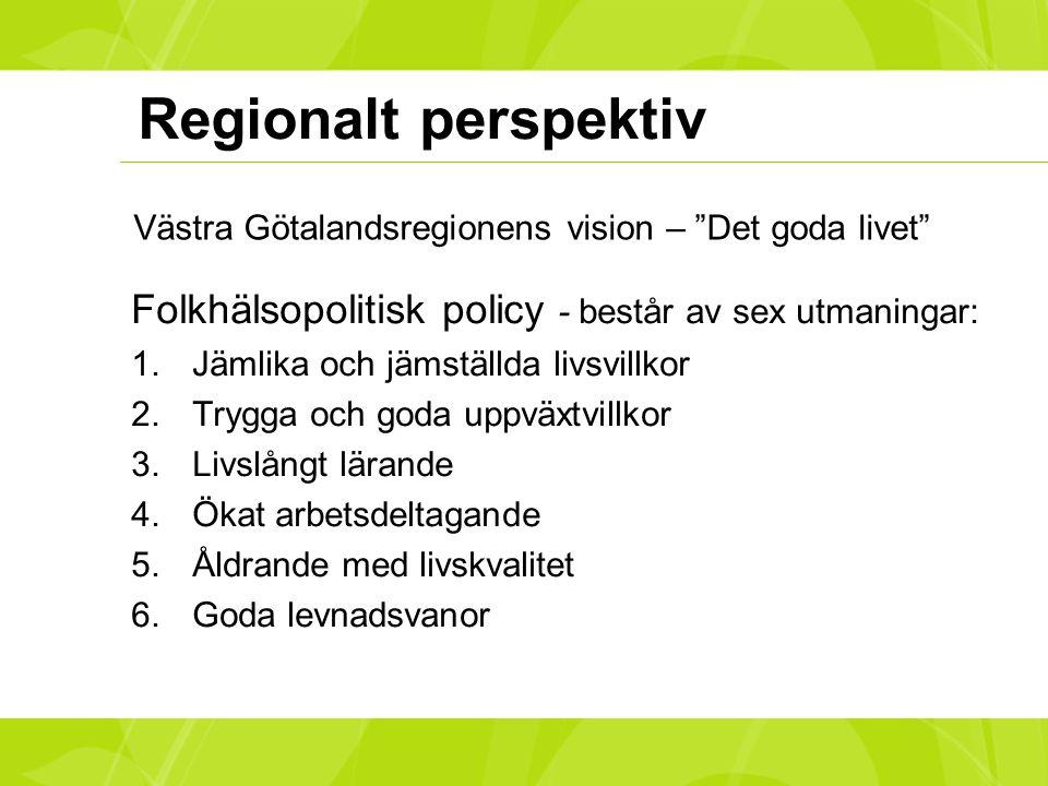 Västra Götalandsregionens vision – Det goda livet