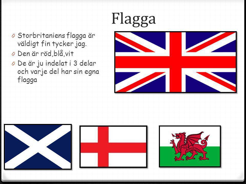 Flagga Storbritaniens flagga är väldigt fin tycker jag.