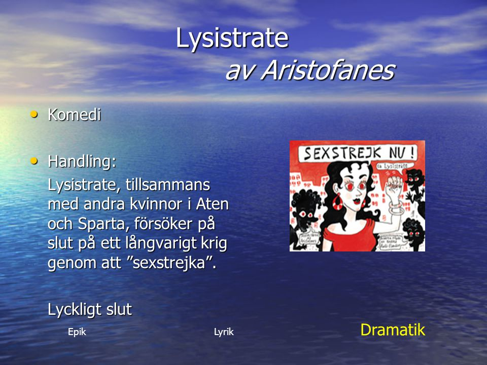 Lysistrate av Aristofanes