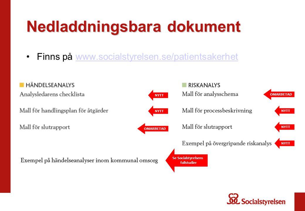 Nedladdningsbara dokument