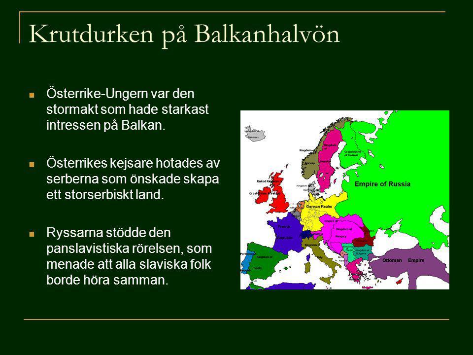 Krutdurken på Balkanhalvön