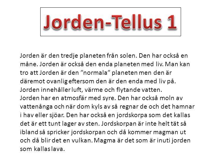 Jorden-Tellus 1