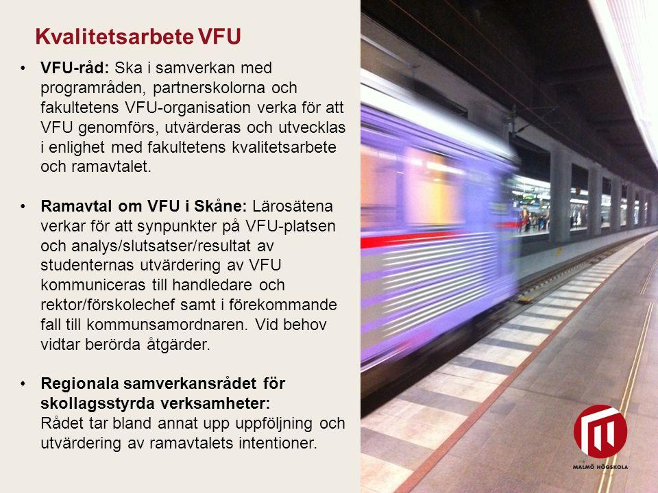 Kvalitetsarbete VFU