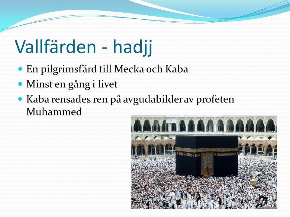 Vallfärden - hadjj En pilgrimsfärd till Mecka och Kaba