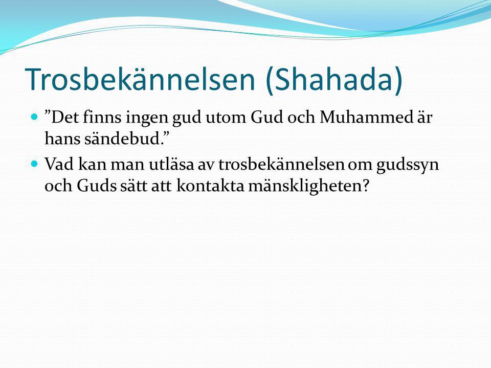 Trosbekännelsen (Shahada)