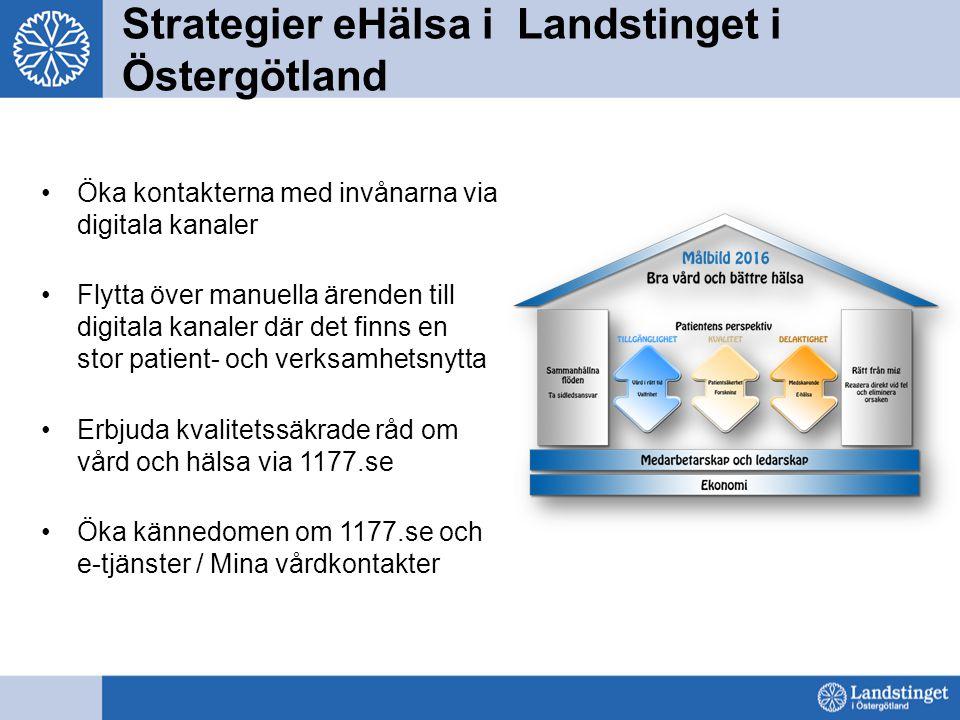 Strategier eHälsa i Landstinget i Östergötland