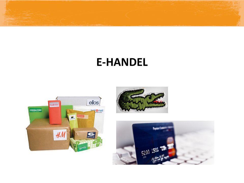 E-HANDEL VAR UPPMÄRKSAM VID NÄTHANDEL