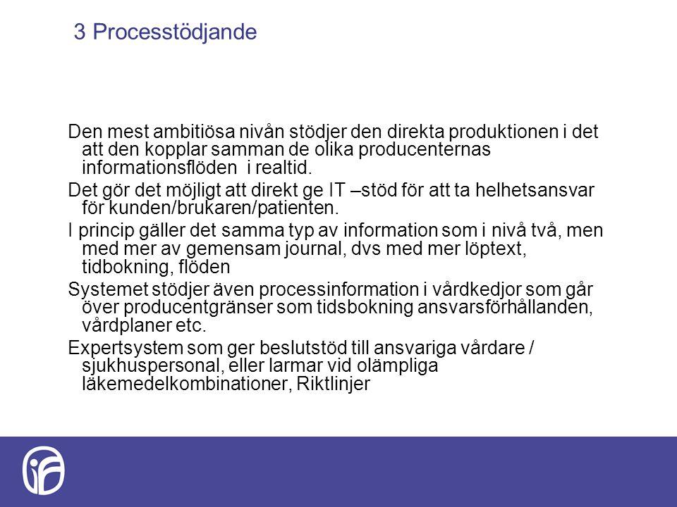 3 Processtödjande