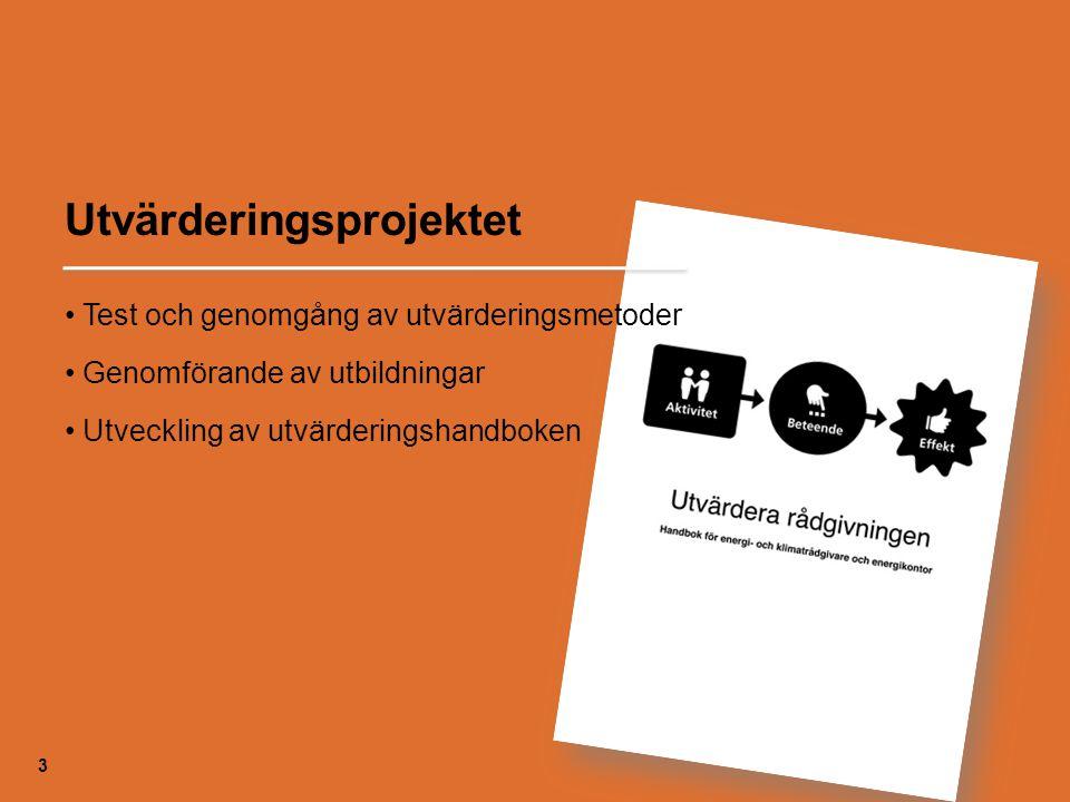 Utvärderingsprojektet