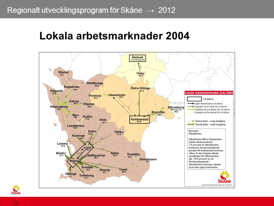 Lokala arbetsmarknader 2004