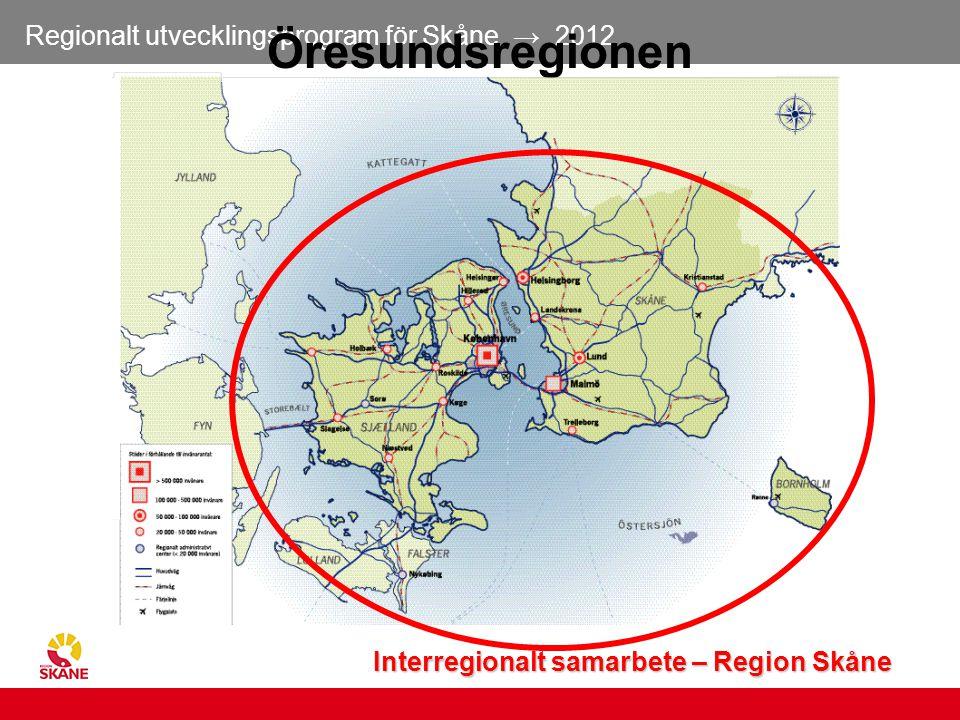 Interregionalt samarbete – Region Skåne