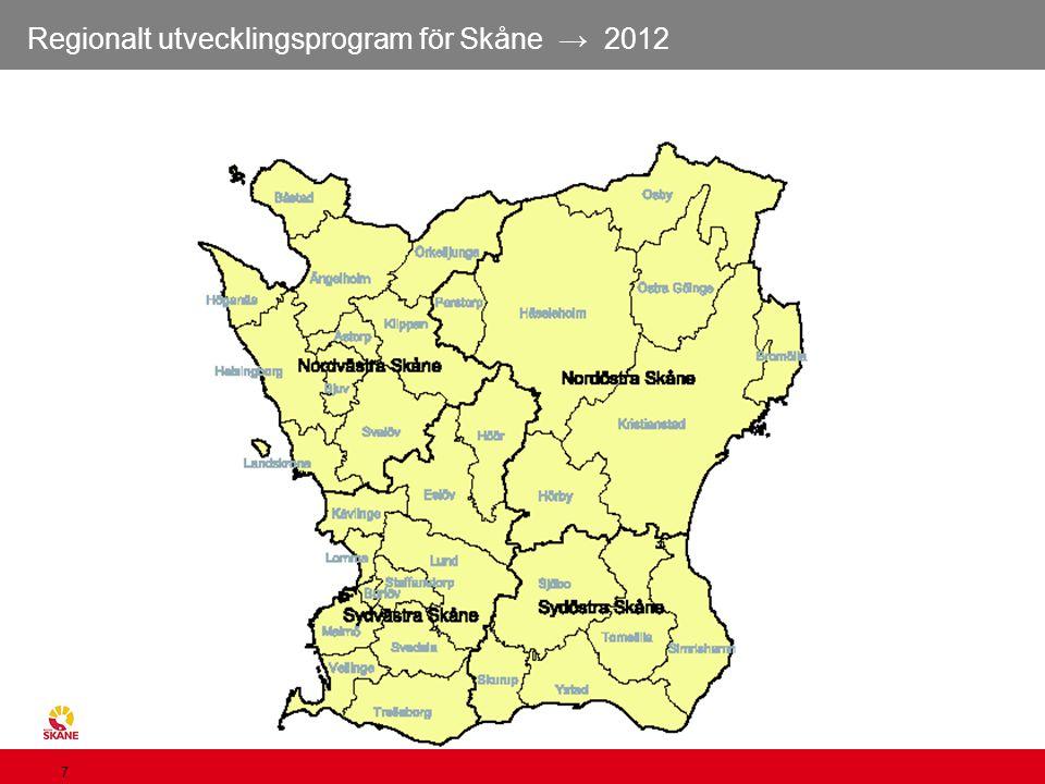 Skånes kommuner