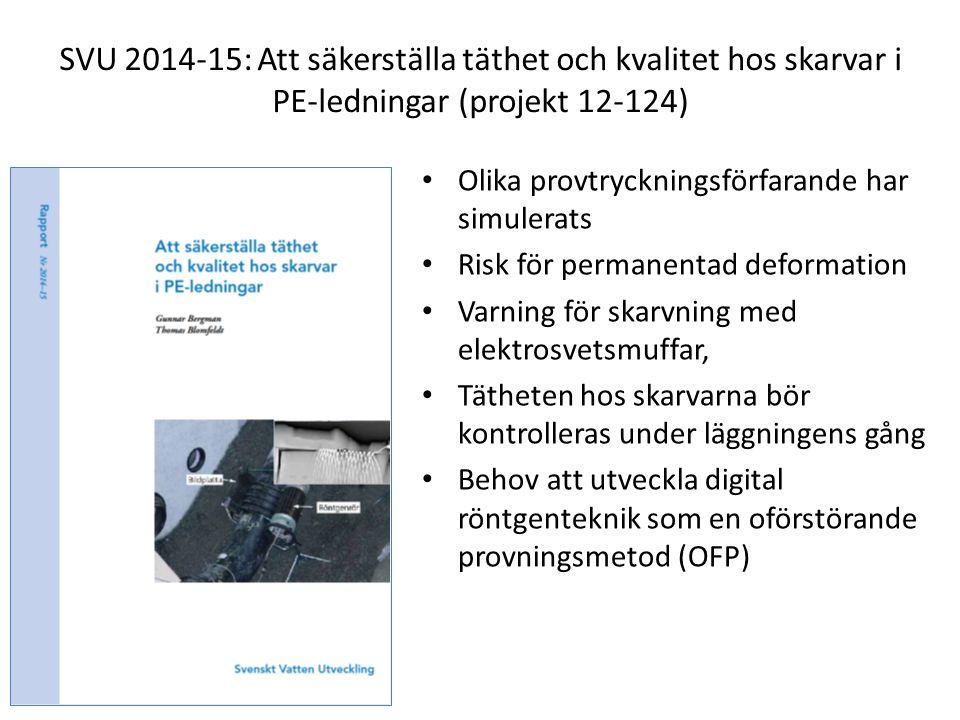 SVU 140916 pkt. 11: Publicerade rapporter