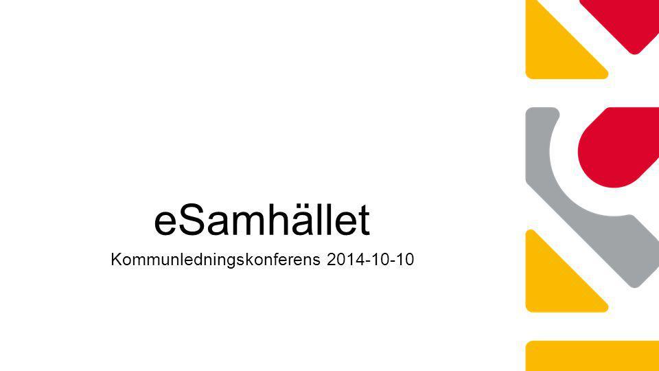 Kommunledningskonferens 2014-10-10