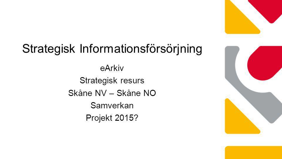 Strategisk Informationsförsörjning