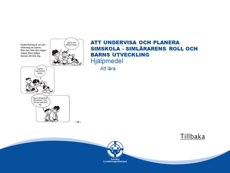 Att undervisa och planera simskola - simlärarens roll och barns utveckling