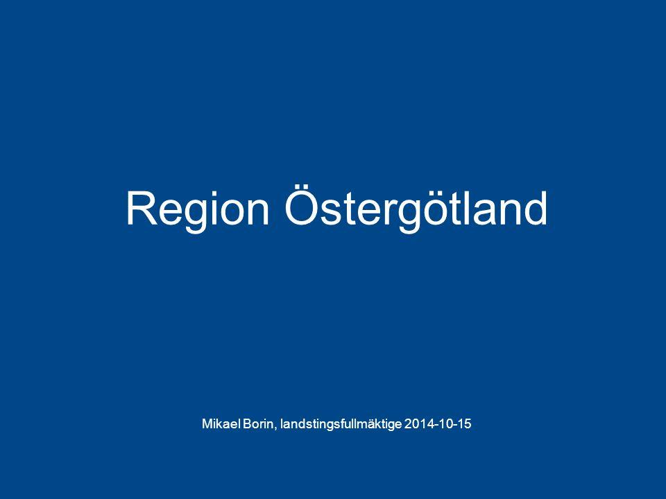 Mikael Borin, landstingsfullmäktige 2014-10-15