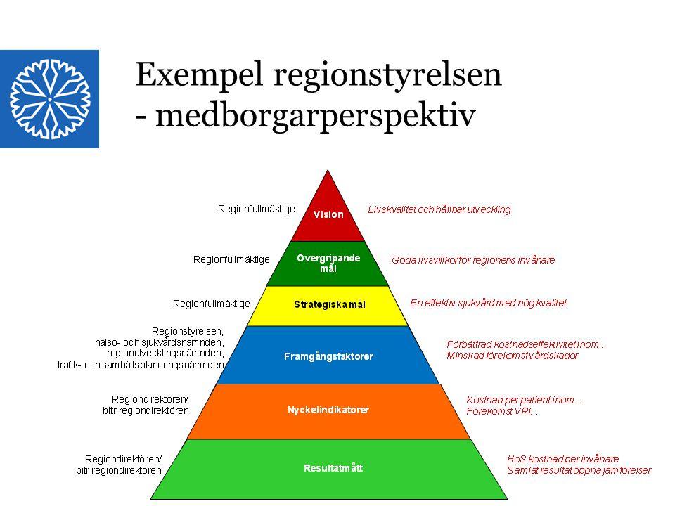 Exempel regionstyrelsen - medborgarperspektiv