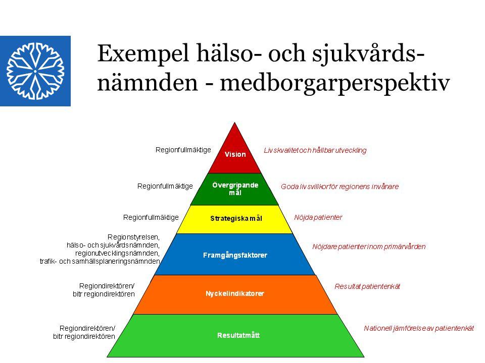 Exempel hälso- och sjukvårdsnämnden Medborgarperspektivet