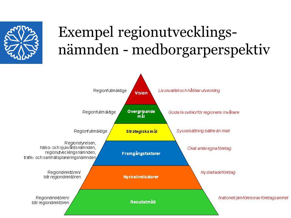 Exempel regionutvecklings-nämnden - medborgarperspektiv