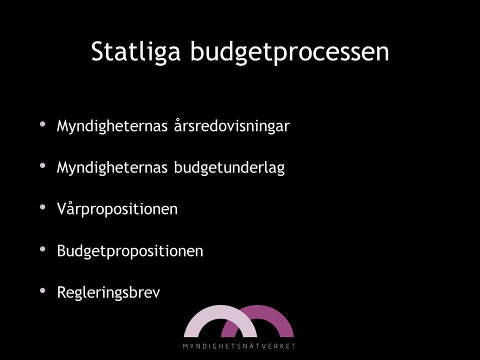 Statliga budgetprocessen