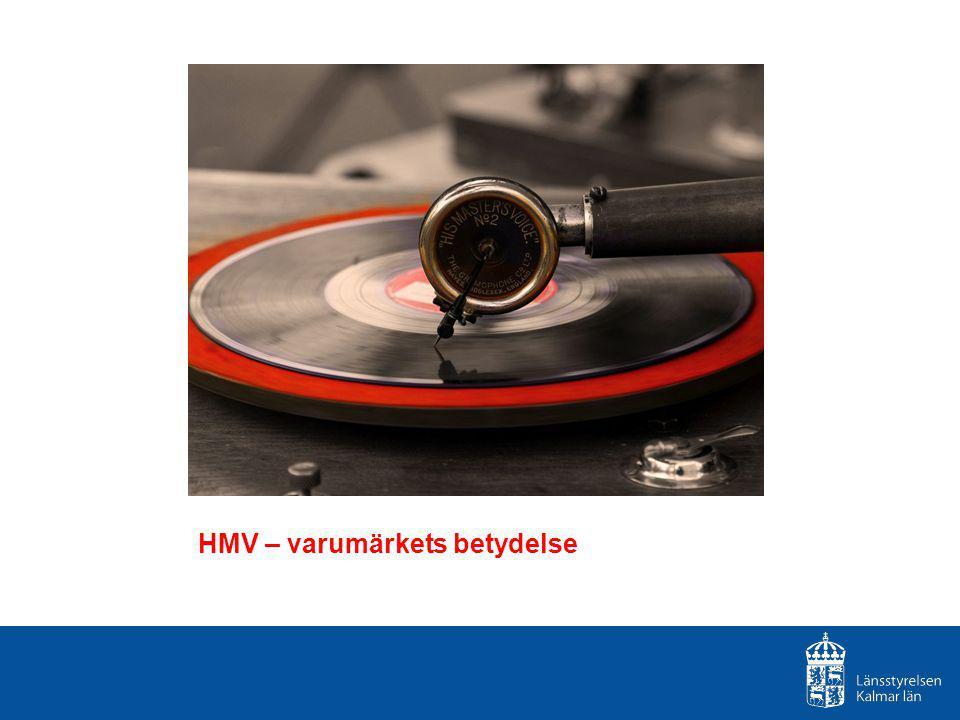 HMV – varumärkets betydelse