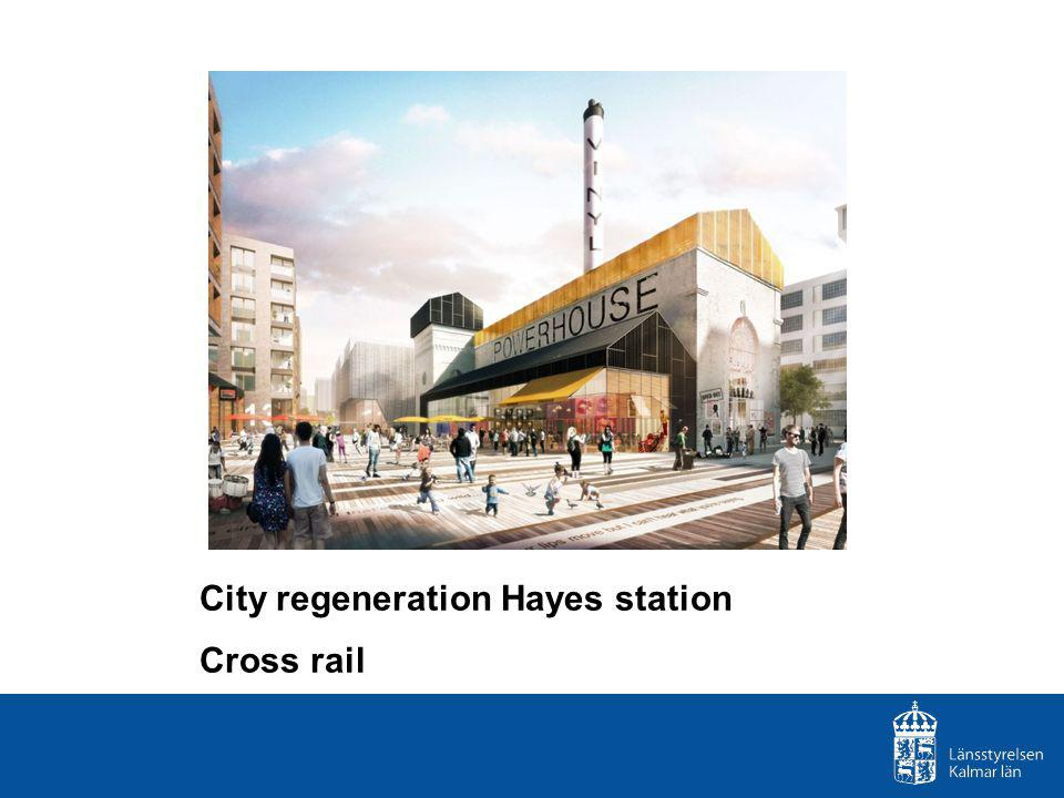 City regeneration Hayes station