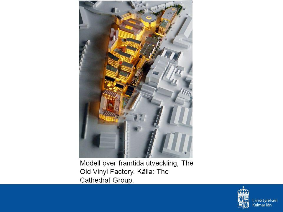Modell över framtida utveckling, The Old Vinyl Factory