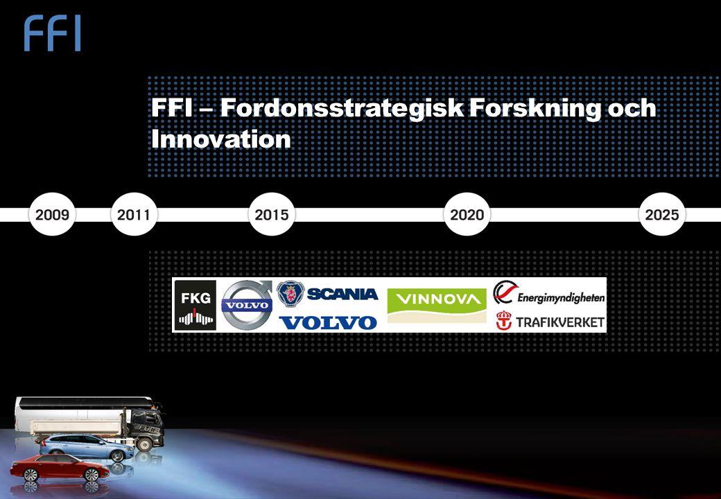 FFI – Fordonsstrategisk Forskning och Innovation