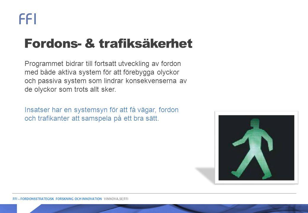 Fordons- & trafiksäkerhet