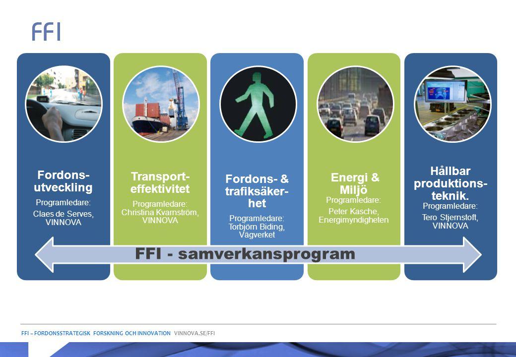 Transport-effektivitet Fordons- & trafiksäker-het